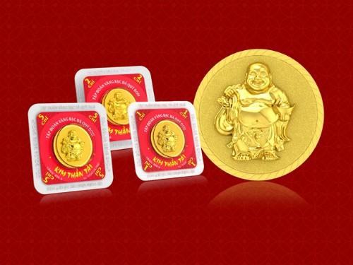 Lì xì đồng vàng được ưa chuộng dịp Tết - ảnh 1