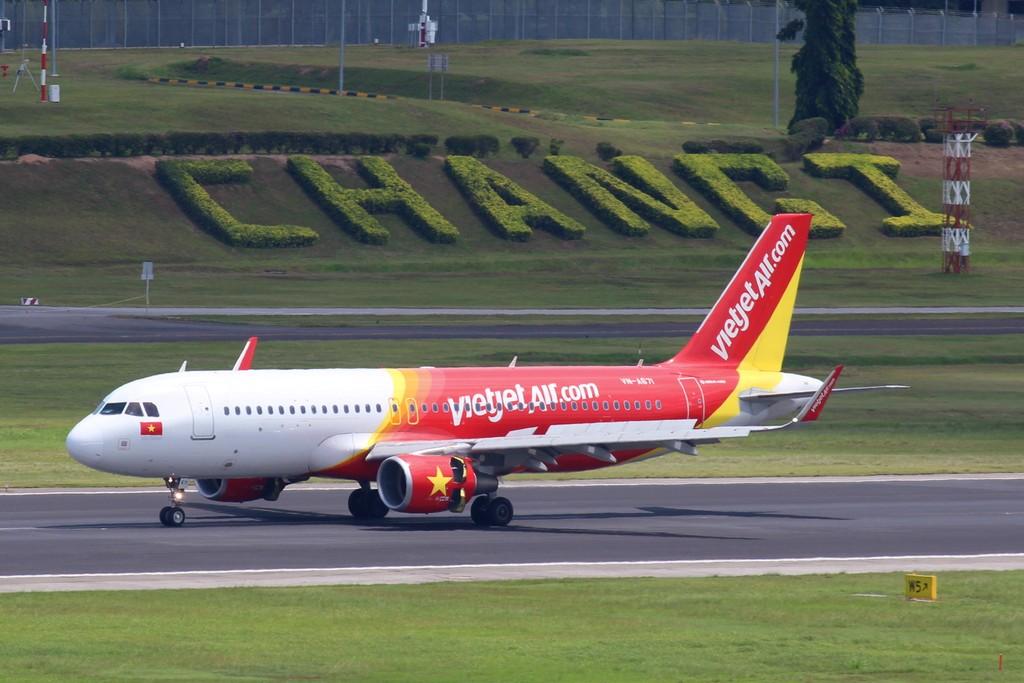Vietjet khai thác các chuyến bay quốc tế tại nhà ga T4, sân bay quốc tế Changi (Singapore)