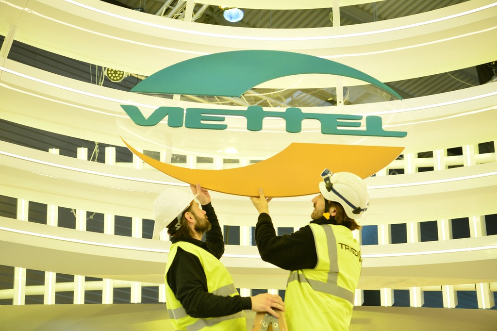 Viettel là đại diện Việt Nam duy nhất tổ chức gian hàng triển lãm tham dự MWC 2018.