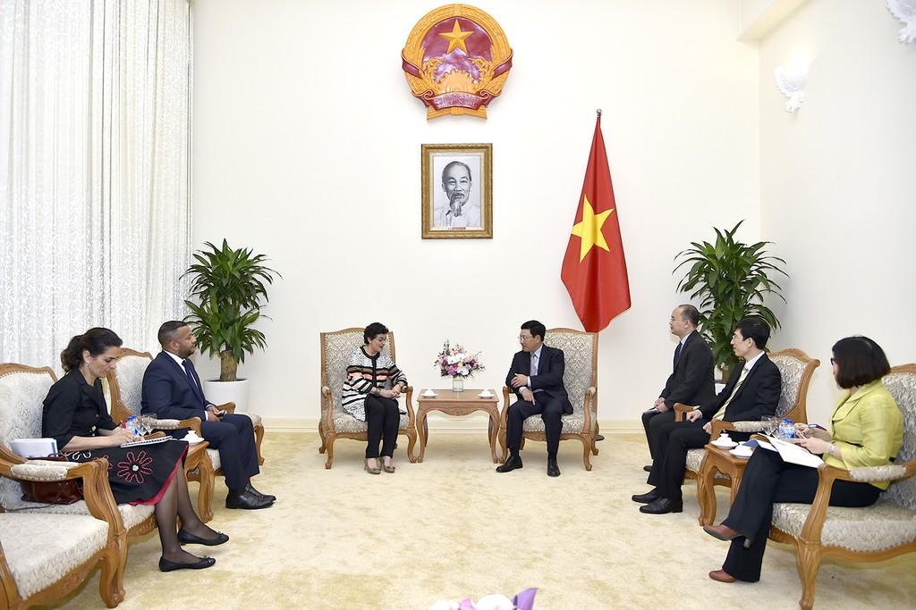 Việt Nam mong muốn ICT hỗ trợ DN tiếp cận thị trường thế giới - ảnh 1