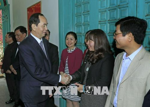 Chủ tịch nước làm việc với Văn phòng Thường trực BCĐ Cải cách tư pháp Trung ương - ảnh 1