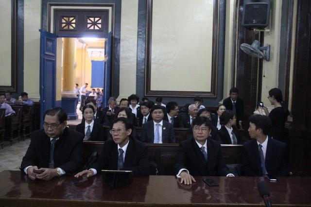 Các luật sư đề nghị báo chí không được tác nghiệp tại phiên tòa này