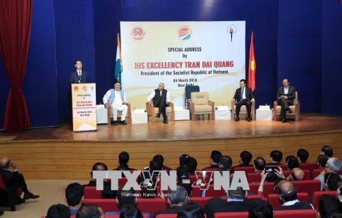 Xây dựng Việt Nam giầu mạnh, Ấn Độ hùng cường - ảnh 1