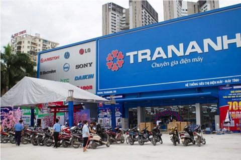 Doanh thu tháng đầu năm của Trần Anh đạt 308 tỷ đồng.