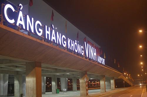 Sân bay Vinh nơi xảy ra sự cố.. Ảnh Internet