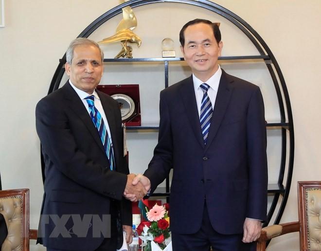 Chủ tịch nước gặp Chủ tịch Quốc hội Bangladesh - ảnh 1