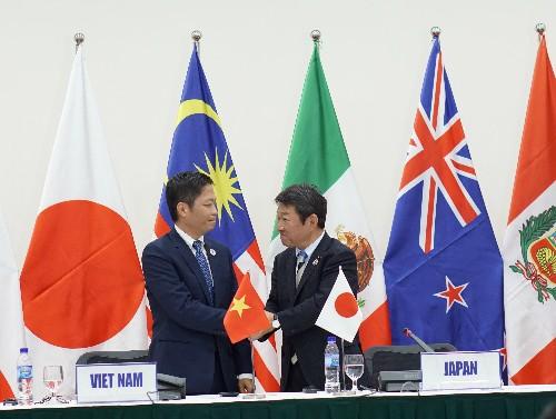 Sau khi Mỹ rút, Nhật Bản là một trong những nước mạnh mẽ ủng hộ ký kết TPP.