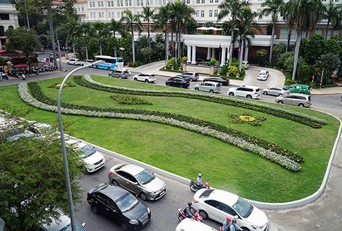 """Công viên tại công trường Lam Sơn trước đây là bãi xe """"khủng""""."""