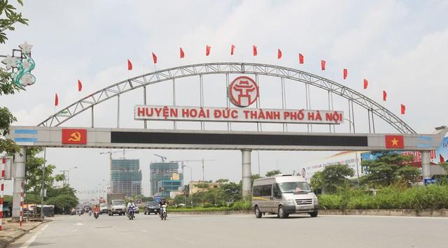 Hà Nội sẽ đầu tư, xây dựng huyện Hoài Đức thành quận vào năm 2020.