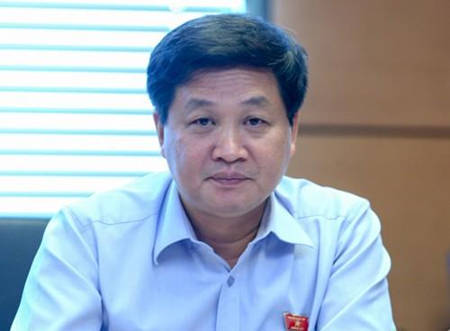 Tổng thanh tra Chính phủ Lê Minh Khái cho biết dự thảo Luật phòng, chống tham nhũng có quy định đánh thuế cao với tài sản kê khai không trung thực. Ảnh: Q.H