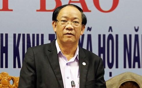 Ông Đinh Văn Thu - Chủ tịch UBND tỉnh Quảng Nam bị kỷ luật bằng hình thức cảnh cáo