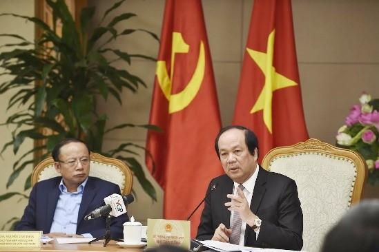 Bộ trưởng, Chủ nhiệm VPCP đề nghị các thành viên của Hội đồng tăng cường đối thoại với các hiệp hội, doanh nghiệp