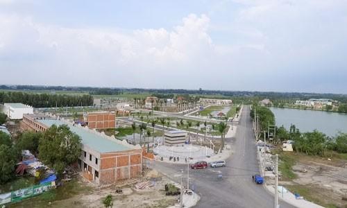 Một dự án tại Long An có quãng đường  về quận Tân Bình, TP HCM khoảng 35 phút di chuyển đang có giá đất tăng trên 100% so với năm 2016 và tăng trên 50% so với 12 tháng trước.