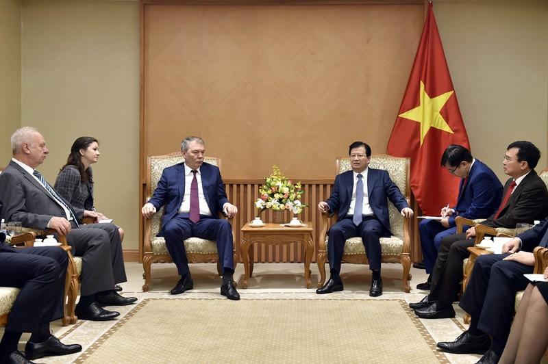 Tiếp tục nỗ lực thúc đẩy hợp tác kinh tế Việt - Nga - ảnh 1