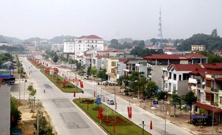 Một góc thành phố Yên Bái