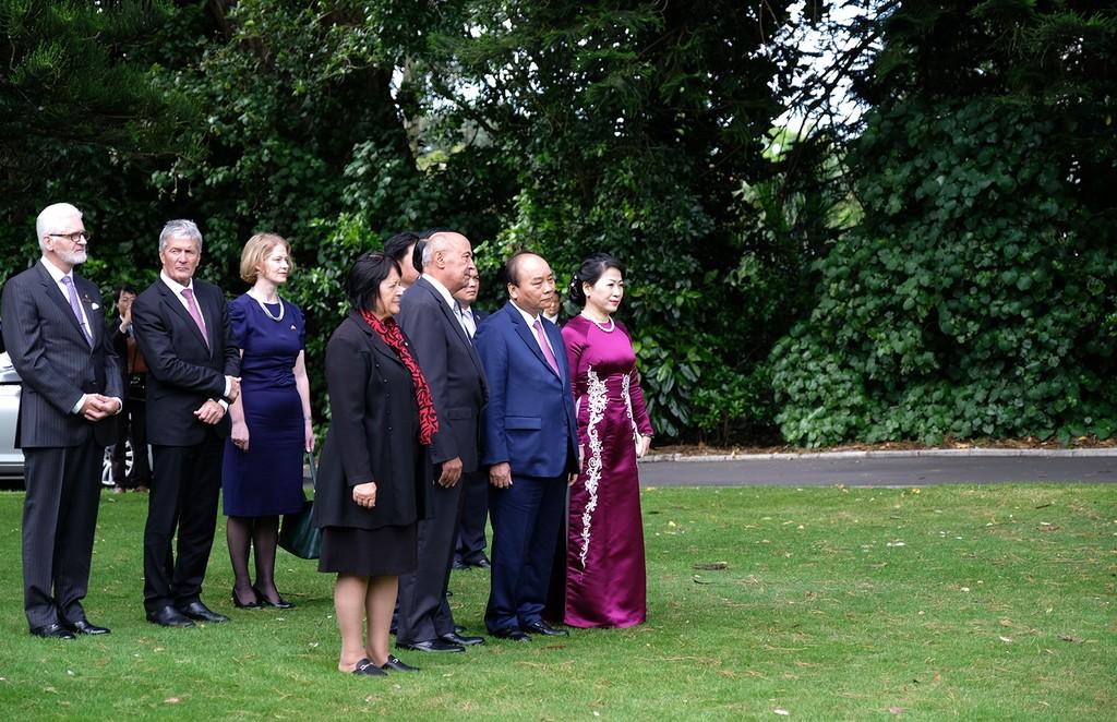 Lễ đón chính thức Thủ tướng Nguyễn Xuân Phúc tại New Zealand - ảnh 1