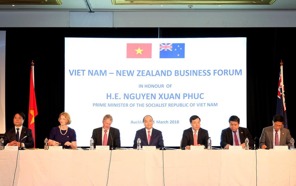 Thủ tướng: Chính phủ 'dạm ngõ' để doanh nghiệp Việt Nam, New Zealand 'kết hôn' - ảnh 1