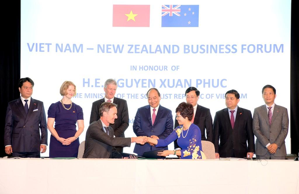 Thủ tướng: Chính phủ 'dạm ngõ' để doanh nghiệp Việt Nam, New Zealand 'kết hôn' - ảnh 3