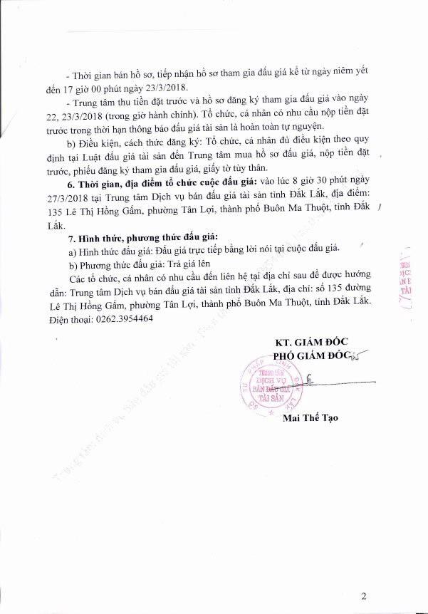Đấu giá lô hàng hóa tịch thu sung công quỹ tại Đắk Lắk - ảnh 2