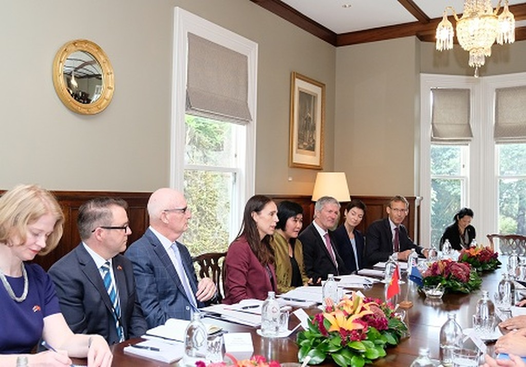Hai Thủ tướng Việt Nam và New Zealand hội đàm - ảnh 2