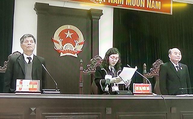 HĐXX tuyên án các bị cáo vụ vỡ đường ống nước sông Đà
