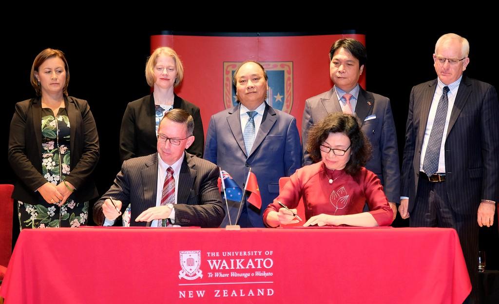 Thủ tướng đối thoại với sinh viên Đại học Waikato - ảnh 3