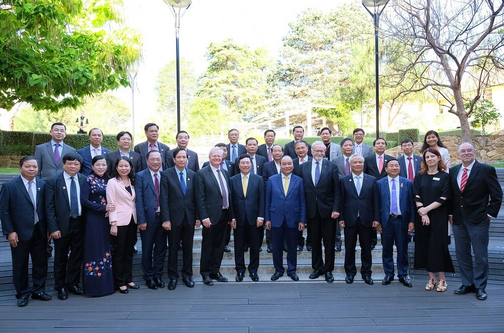 Thủ tướng nói chuyện với giảng viên, sinh viên Đại học Quốc gia Australia - ảnh 2