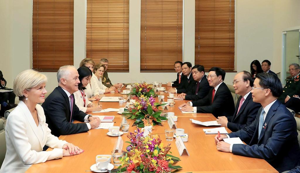Việt Nam, Australia thiết lập quan hệ Đối tác chiến lược - ảnh 1