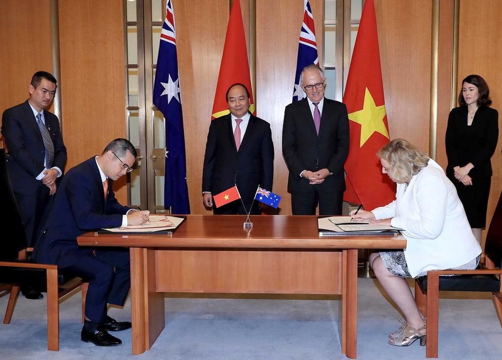 Việt Nam, Australia thiết lập quan hệ Đối tác chiến lược - ảnh 2