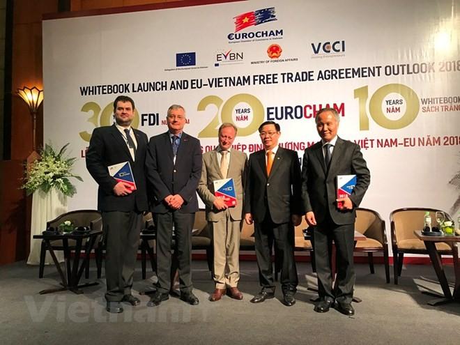 EuroCham công bố Sách Trắng và triển vọng Hiệp định thương mại tự do châu Âu – Việt Nam