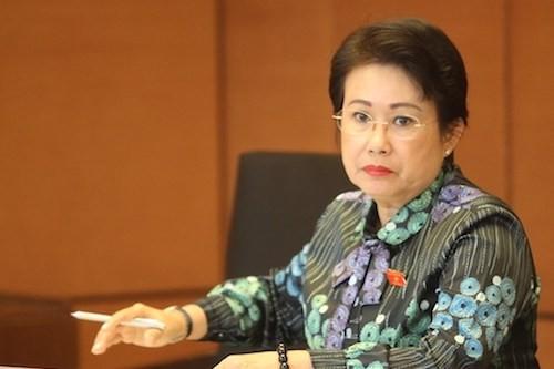 Bà Phan Thị Mỹ Thanh, Phó bí thư Tỉnh ủy Đồng Nai. Ảnh: VVT