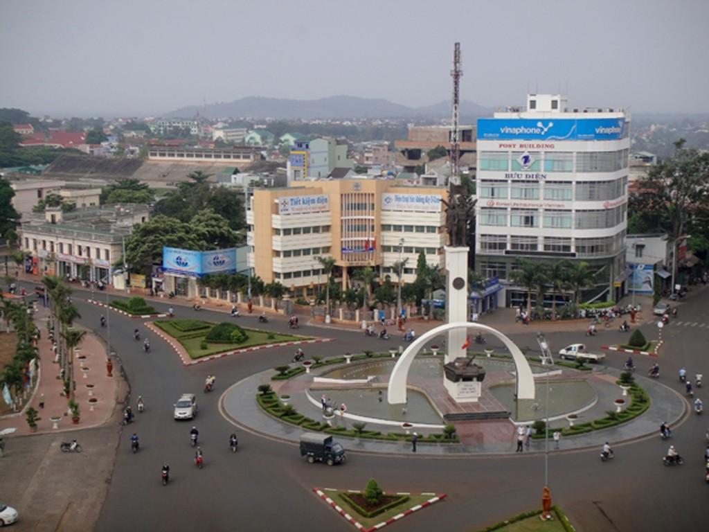 Trung tâm thành phố Buôn Ma Thuột
