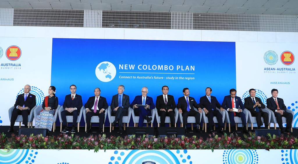 Thủ tướng bắt đầu dự các hoạt động trong khuôn khổ Hội nghị ASEAN-Australia - ảnh 1