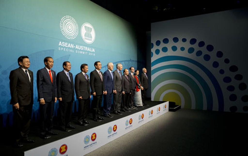 Các nhà lãnh đạo ASEAN và Australia.