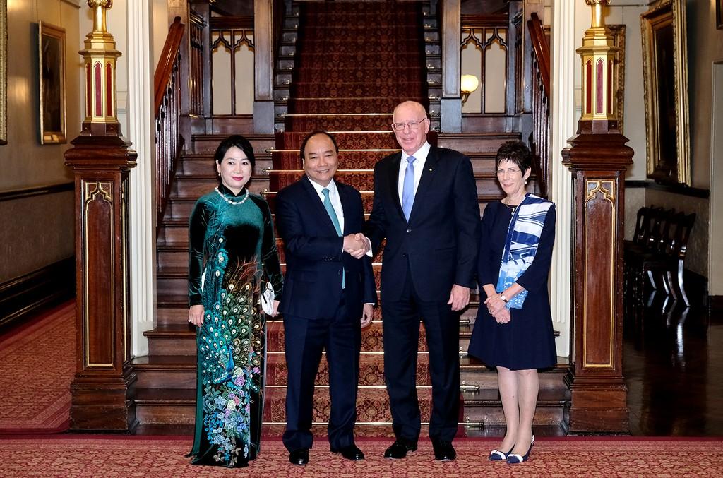 Thủ tướng tiếp Lãnh đạo bang New South Wales, Australia - ảnh 1