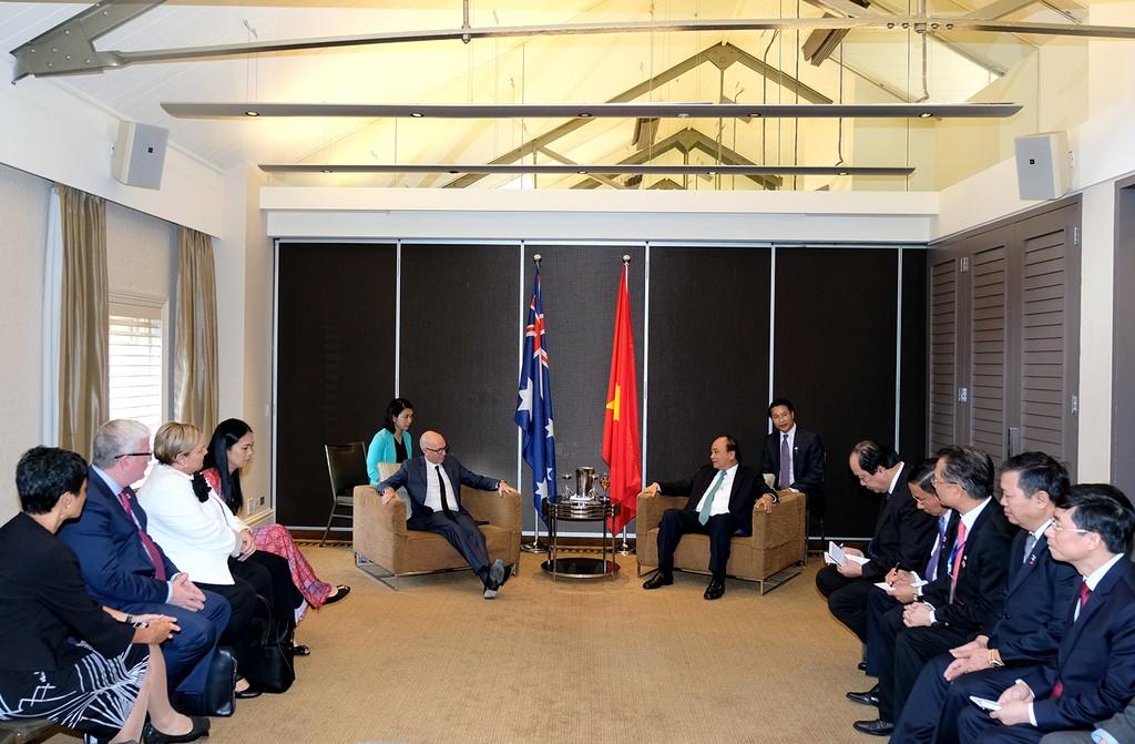 Thủ tướng tiếp lãnh đạo một số doanh nghiệp Australia đầu tư vào Việt Nam - ảnh 1