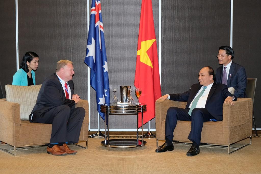 Thủ tướng tiếp lãnh đạo một số doanh nghiệp Australia đầu tư vào Việt Nam - ảnh 3