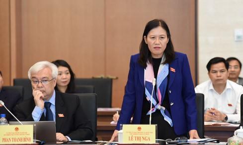 Bộ trưởng Bộ Tư pháp Lê Thành Long trả lời chất vấn - ảnh 1