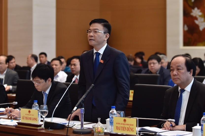 Bộ trưởng Bộ Tư pháp Lê Thành Long trả lời chất vấn - ảnh 2