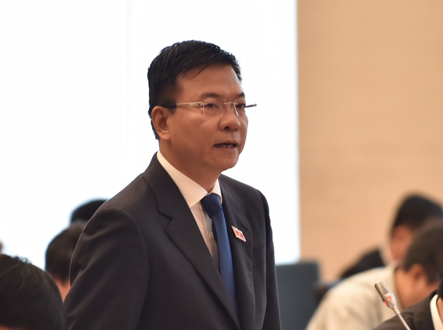 Bộ trưởng Bộ Tư pháp Lê Thành Long trả lời chất vấn - ảnh 5