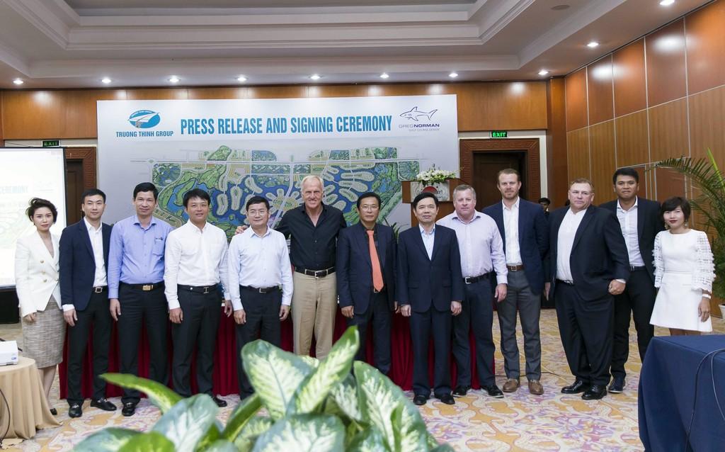 Ký kết hợp đồng tư vấn thiết kế sân golf Bảo Ninh Trường Thịnh - ảnh 2