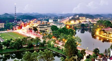 Khu trung tâm thành phố Yên Bái