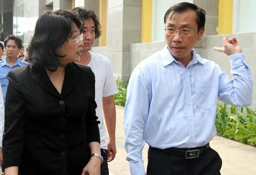 Phó chủ tịch nước yêu cầu địa phương nhanh chóng ổn định đời sống cư dân.