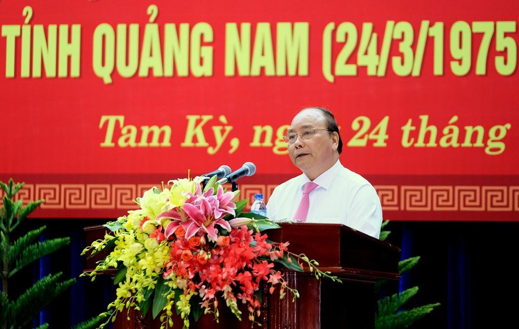 Thủ tướng mong Quảng Nam tạo cực tăng trưởng mới - ảnh 1