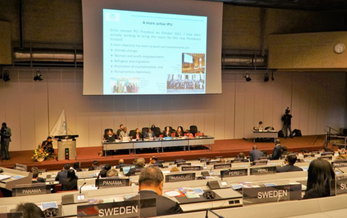 Chủ tịch Quốc hội dự Phiên họp toàn thể Đại hội đồng IPU-138 - ảnh 1
