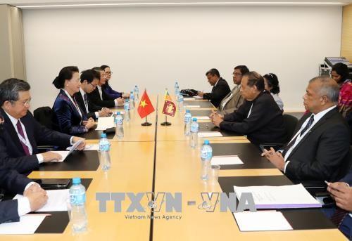 Sri Lanka mong muốn tăng cường hợp tác hơn nữa với Việt Nam - ảnh 1