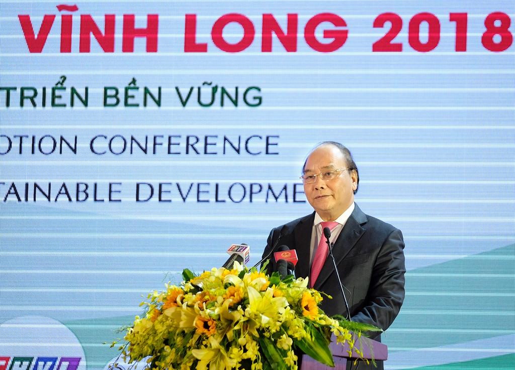 Thủ tướng: Vĩnh Long cần phấn đấu phát triển năng động hàng đầu cả nước - ảnh 1