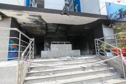 Việc Công ty 577 phủ nhận là chủ đầu tư Carina Plaza được xem nhằm tránh chịu ảnh hưởng nhiều mặt sau sự cố cháy nghiêm trọng.