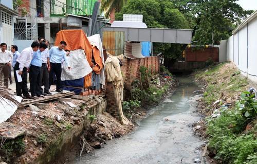 """Nhiều công trình thoát chống ngập, thoát nước quy mô lớn tại TP HCM sắp được """"giải cứu""""."""