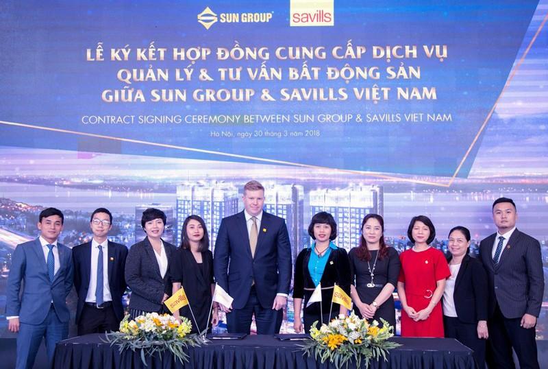 Sun Group lựa chọn Savills Việt Nam vận hành tổ hợp 5 sao Sun Grand City Ancora Residence - ảnh 1